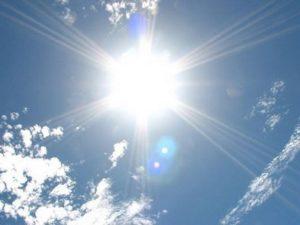 夏、紫外線